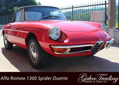 Alfa Romeo 1300 Spider Duetto Rundheck Osso di Sepia