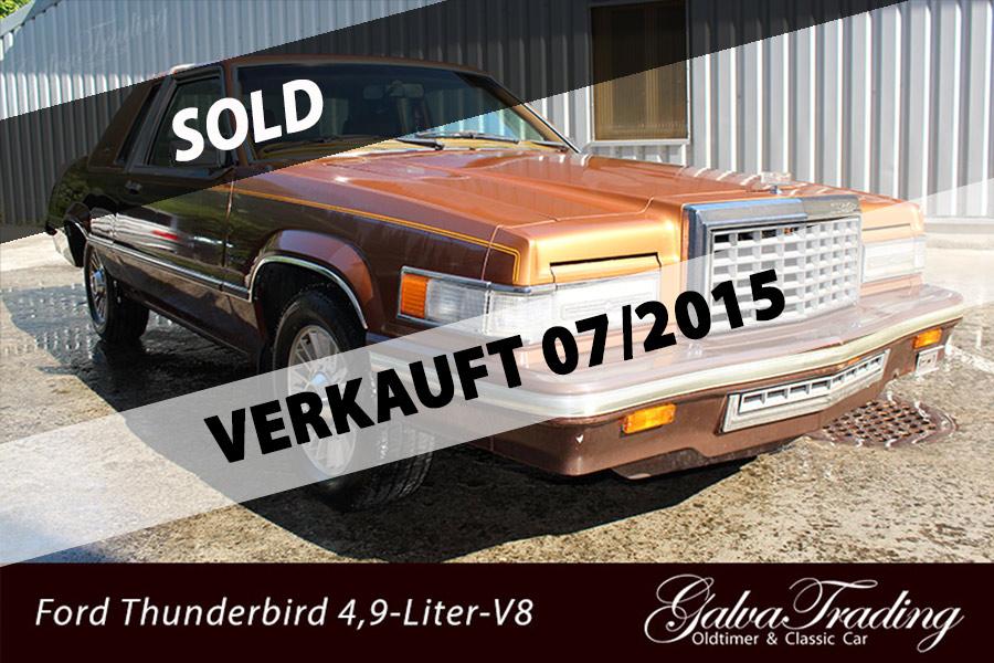 Ford Thunderbird 4,9-Liter-V8-Motor