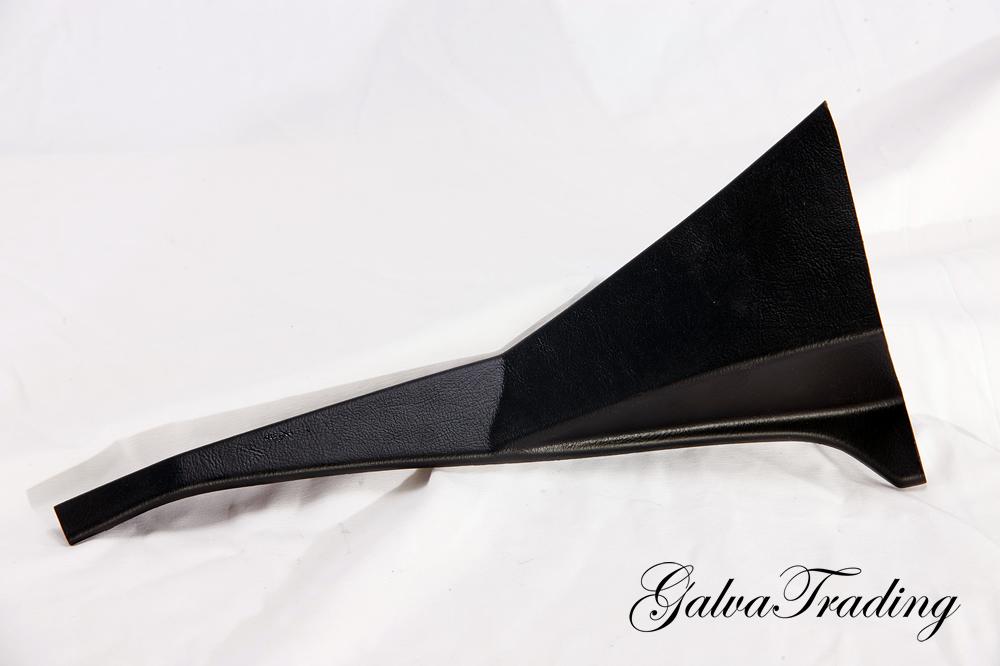 Säulenverkleidung Rundheck rechts Kunststoff schwarz Alfa