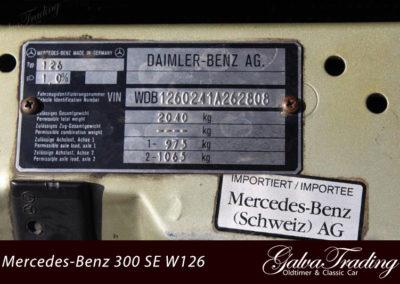 Mercedes-Benz 300 SE W126